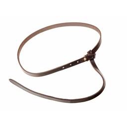 Celta cinturón de La Tene con el gancho de cinturón, marrón