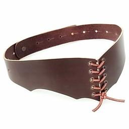 Corsé cinturón Bertholdin B, cuero marrón