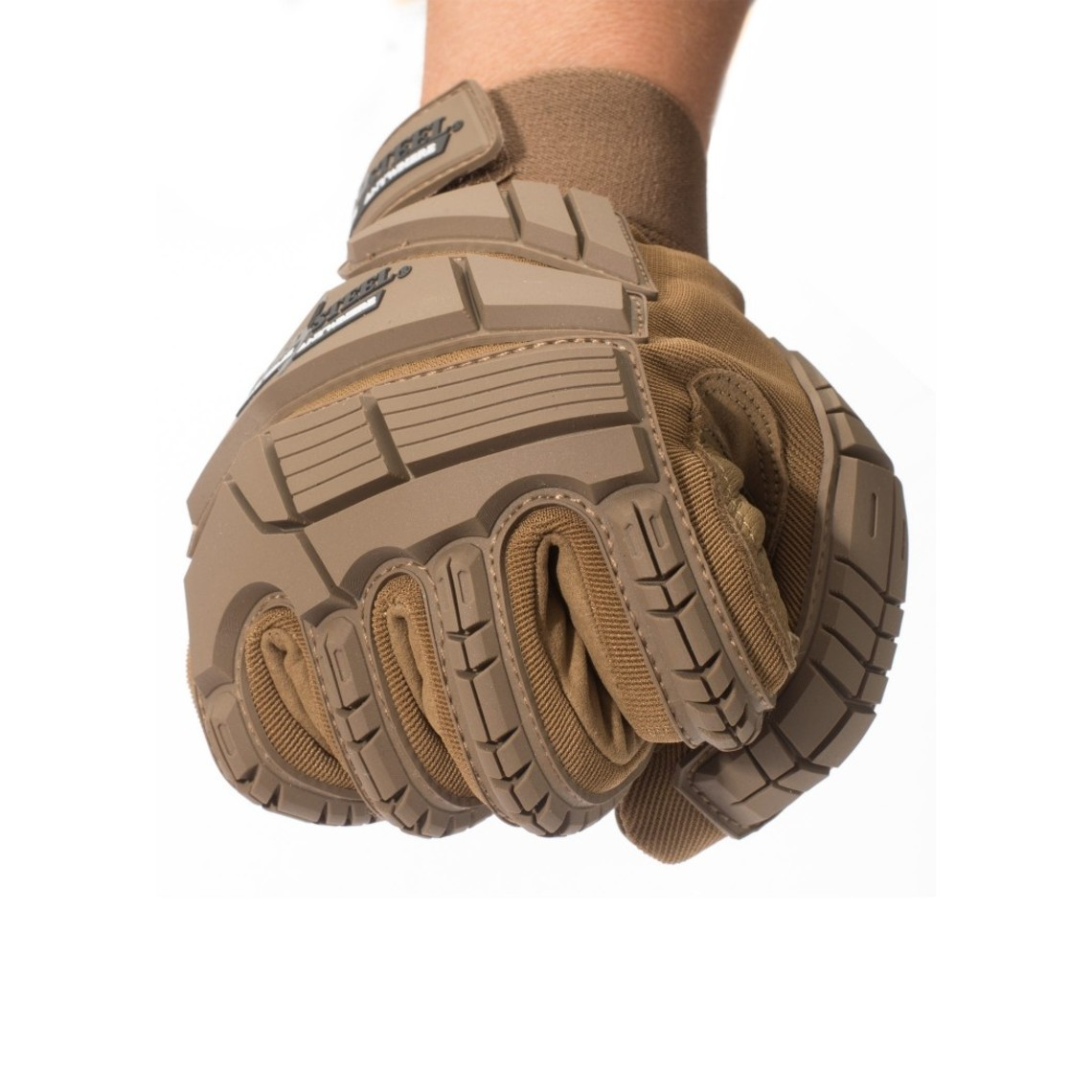 Cold Steel Tactical gloves, sand color