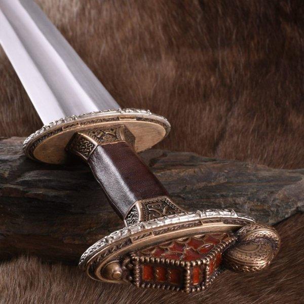 Deepeeka Vendel sværd Uppsala 7.-8. århundrede, messing fæstet