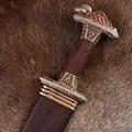 Deepeeka Vendel spada Uppsala settimo-ottavo secolo, l'elsa stagnato