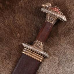 Vendel sword Uppsala 7th-8th century, tin-plated hilt