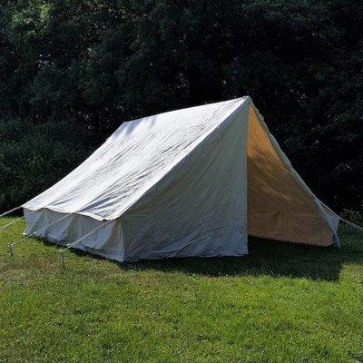Tält och rep