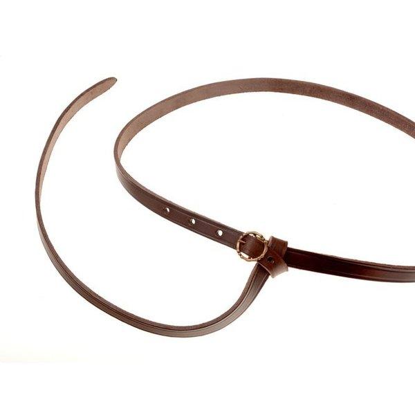 15th century belt Anjou, brown