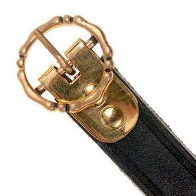 15th century belt Anjou, black