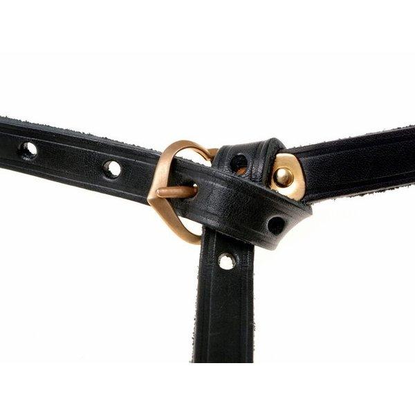 14th-15th century belt Beaufort, black