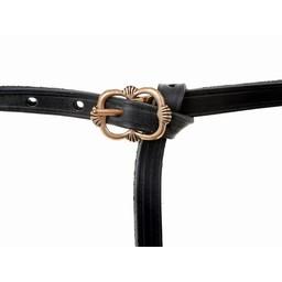 cinturón medieval Salisbury, marrón