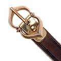 15th century belt Warwick, brown