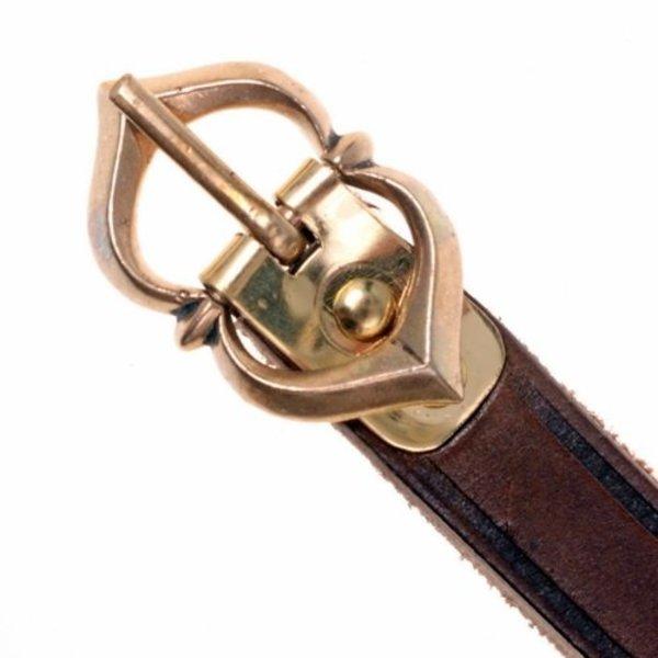 15: e århundradet bälte Warwick, brun