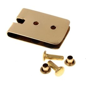 placa de la correa 2 cm, bronce