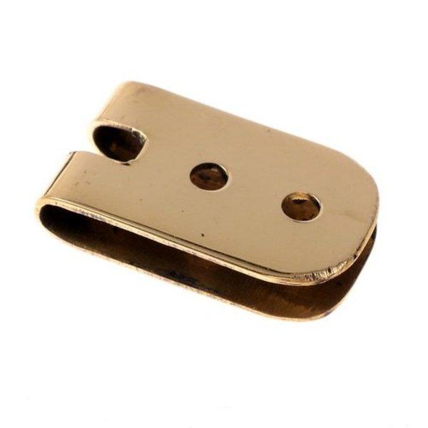 Bælte plade 1,5 cm, bronze