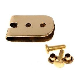 Plaque de ceinture 1,5 cm, bronze