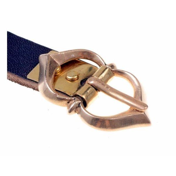 piastra cintura 1,5 cm, bronzo