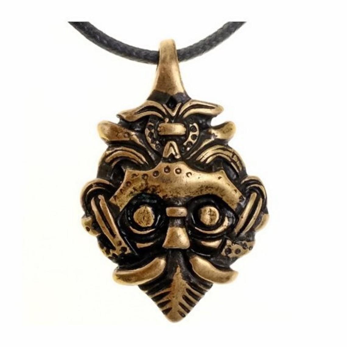 Viking jewel Gnezdowo brass