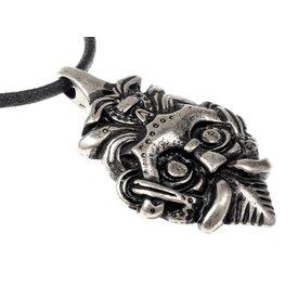 Viking jewel Gnezdowo silvered