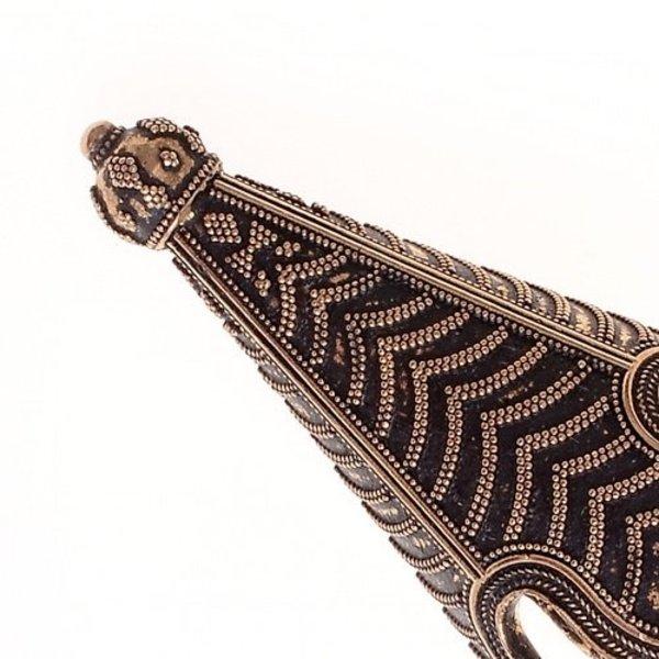 Birka sombrero de punta de bronce