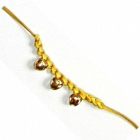 Middeleeuwse belletjesarmband lila
