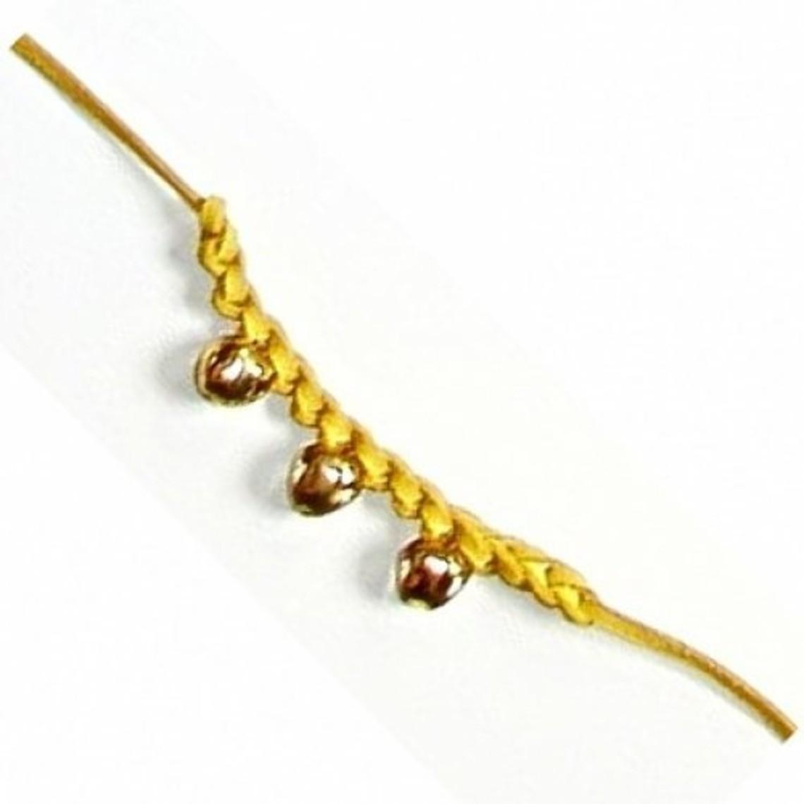 campana medievale braccialetto rosso