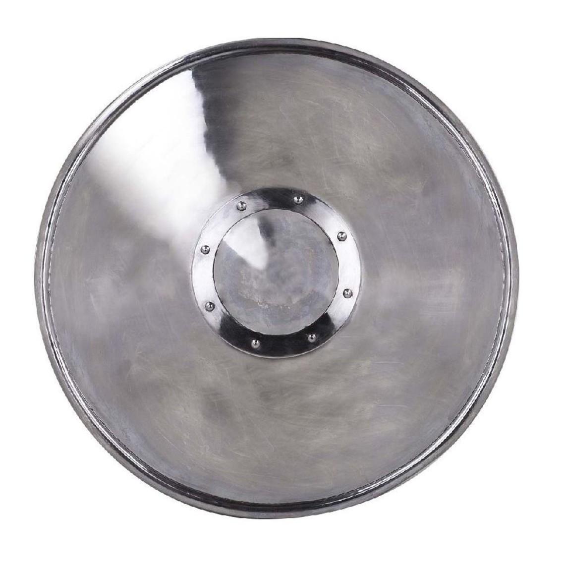 escudo redondo de acero 51 cm