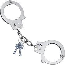 Handcuffs chrome finish