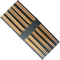 Drewniane pałeczki zestaw 5