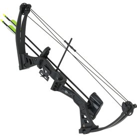 Compound bow 25 lbs, set