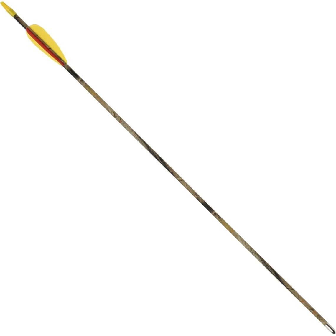 """Fibra de vidrio flecha camo 26"""" (66 cm)"""