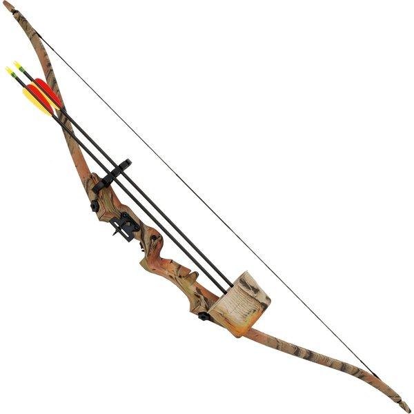Recurve bow set camouflage