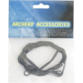 Spare bowstring for recurve bow set green