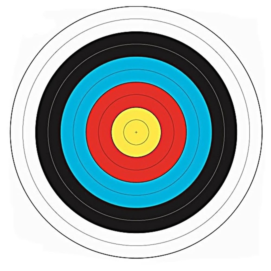 Paper target 40 x 40 cm