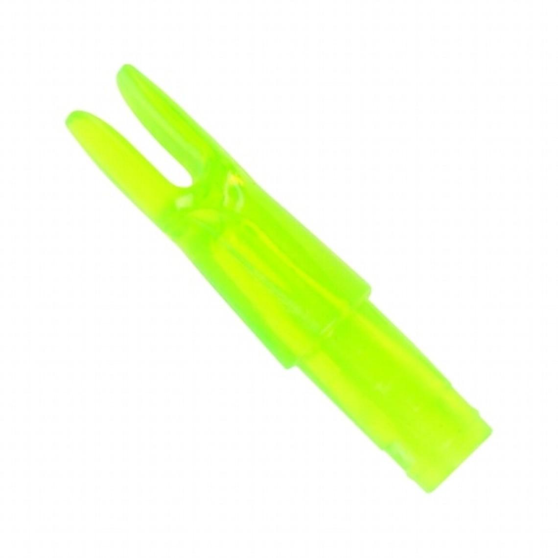 Nock para flechas de fibra de vidrio