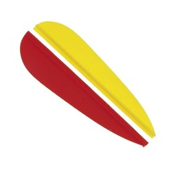 Feathers for fletching 6,5 cm, set of 9