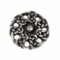 boutons, début du Moyen Age ensemble de 5 pièces, argenté