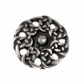 Early medieval buttons, set of 5 pieces, silvered