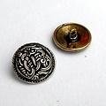 Viking botones estilo conjunto Borre de cinco piezas, latón