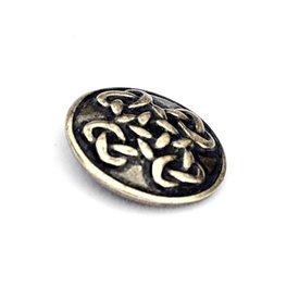 pulsanti celtiche Orkney, set di 5 pezzi, argentato