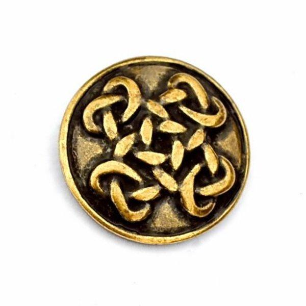 Celtic knappar Orkney, set om 5 stycken, försilvrade
