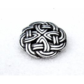 Celtic buttons Tara, set of 5 pieces, silvered