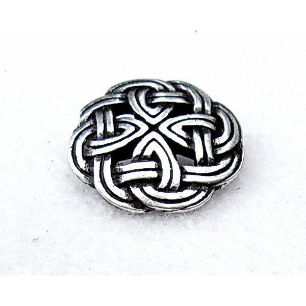 Celtic knapper Tara, sæt med 5 stykker, forsølvede