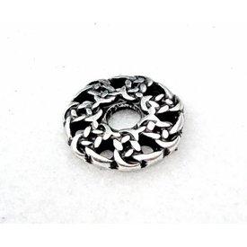 Tidlig middelalder gælisk knapper, sæt med 5 stykker, forsølvet