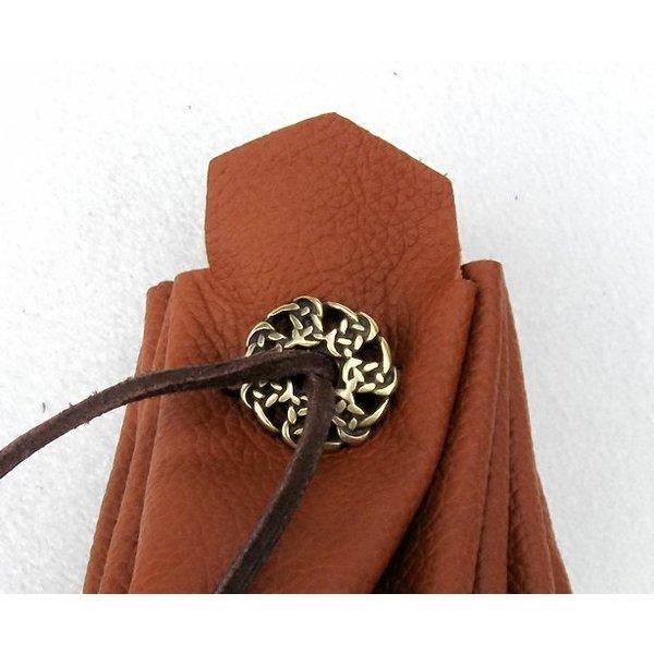 boutons gaélique, début du Moyen Age ensemble de 5 pièces, argenté