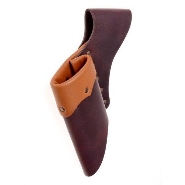 Leather holder for LARP swords, light brown-brown