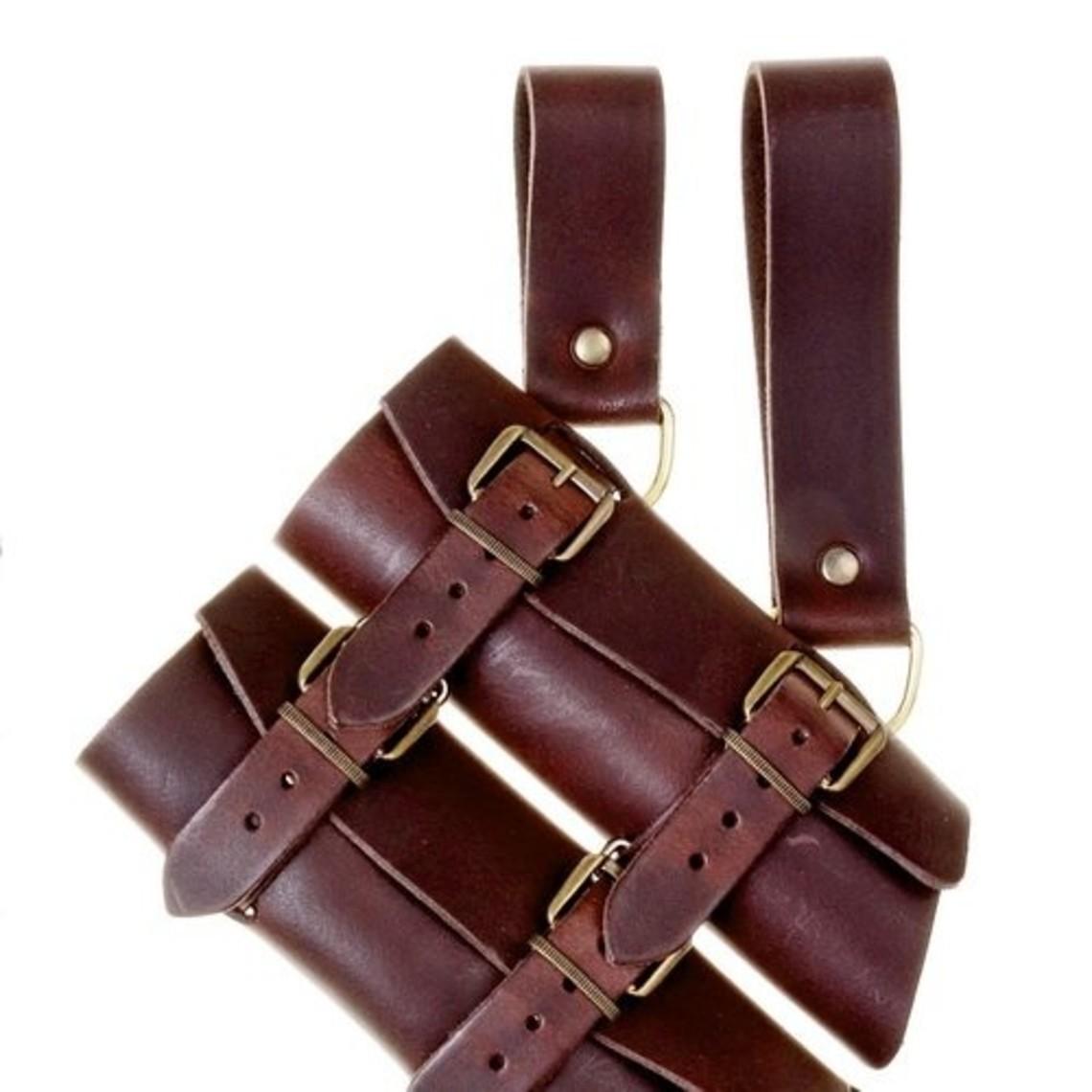 Luksuriøs sværd & dolk indehaver, brun