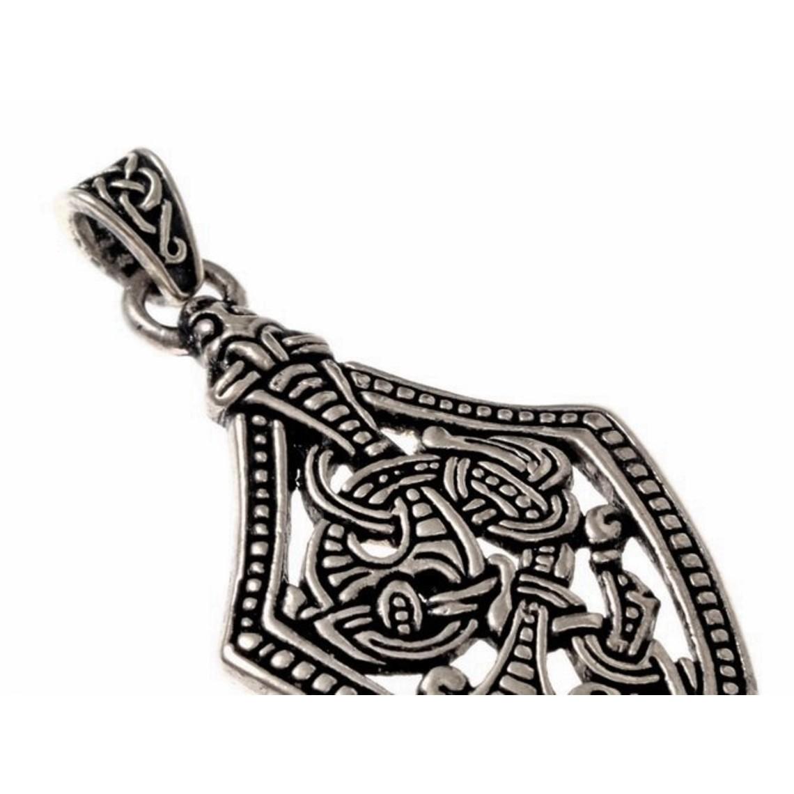 Épée de style bijou borre de Chape, argentait