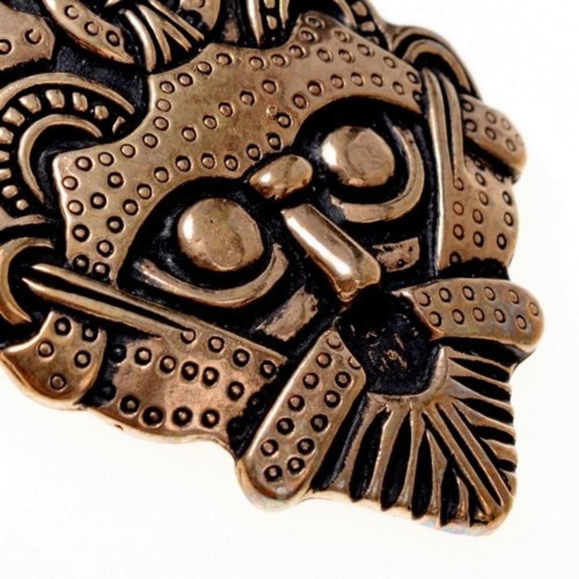Gnezdovo de Viking amuleto, bronce