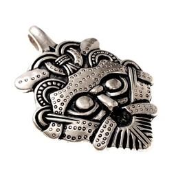 amuleto Gnezdovo de Viking, plateado