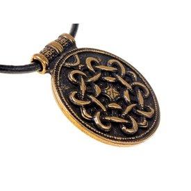 Terslev amuleto Haithabu, latón