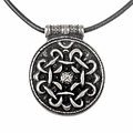 Terslev amuleto Haithabu, argentato