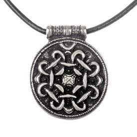 Terslev amulet Haithabu, verzilverd