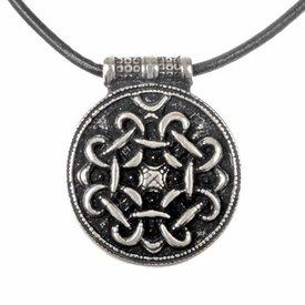 Terslev amulett Haithabu, försilvrade